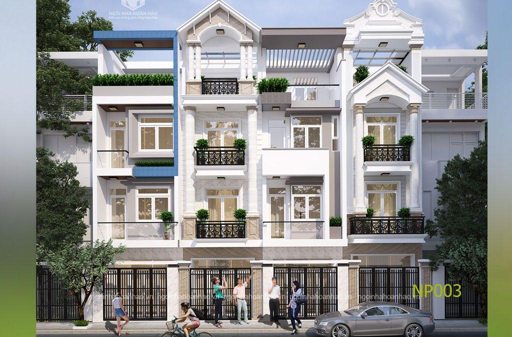 thiết kế nhà phố 3 tầng đẹp miễn chê luôn