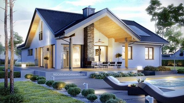 Ngôi nhà hoàn hảo nhà vườn 55