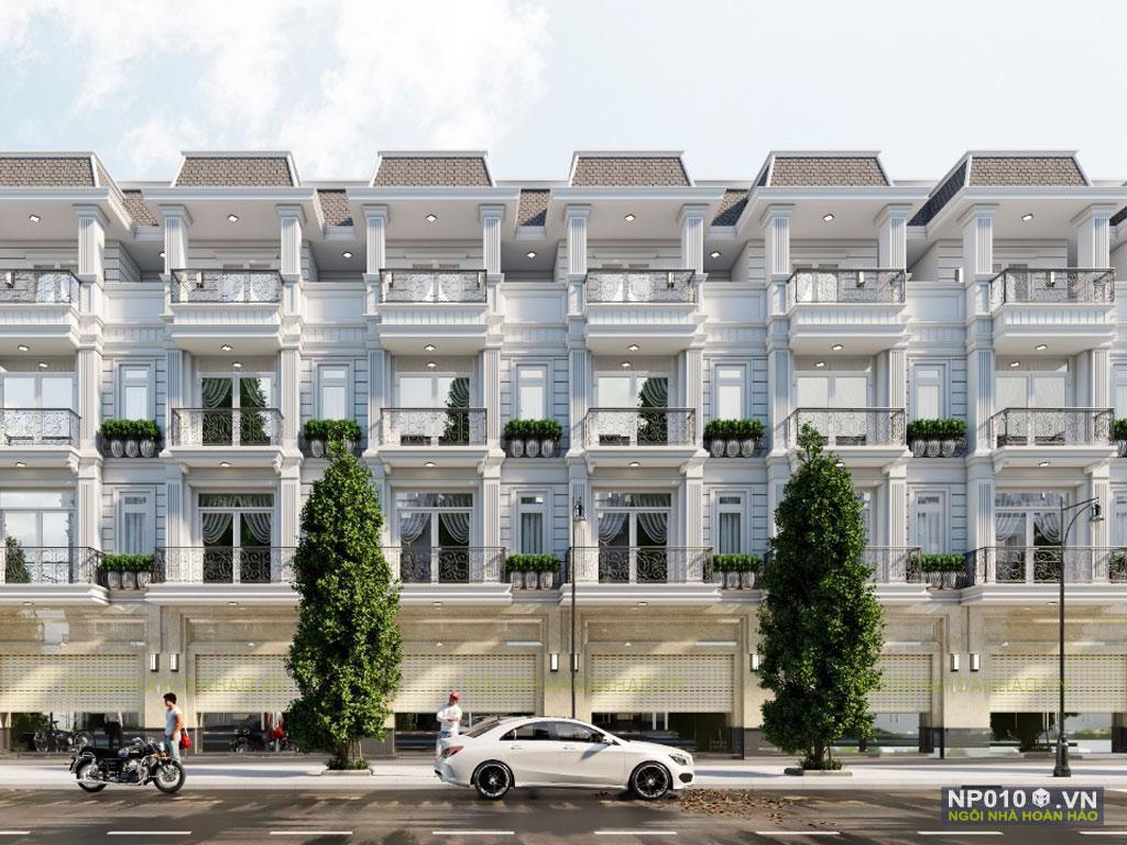 thiết kế dãy nhà phố NP010a