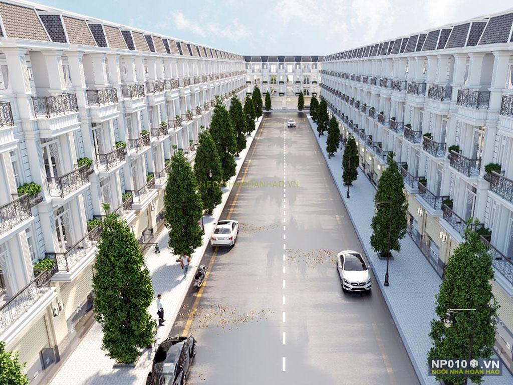 thiết kế dãy nhà phố NP010c