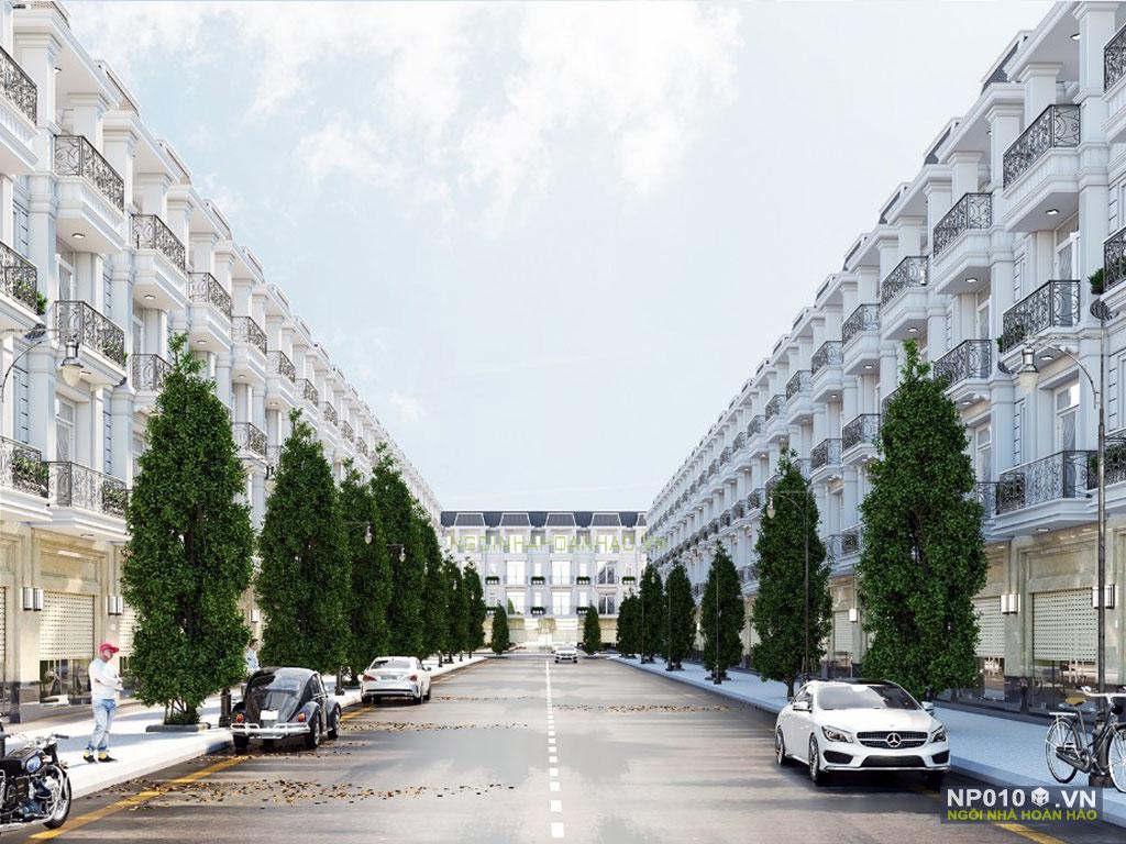 thiết kế dãy nhà phố NP010d