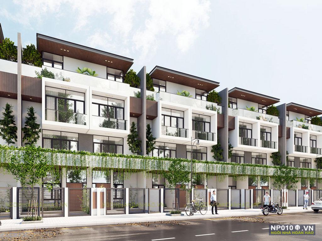 thiết kế dãy nhà phố NP010e