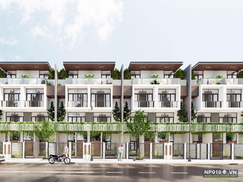 thiết kế dãy nhà phố NP010f