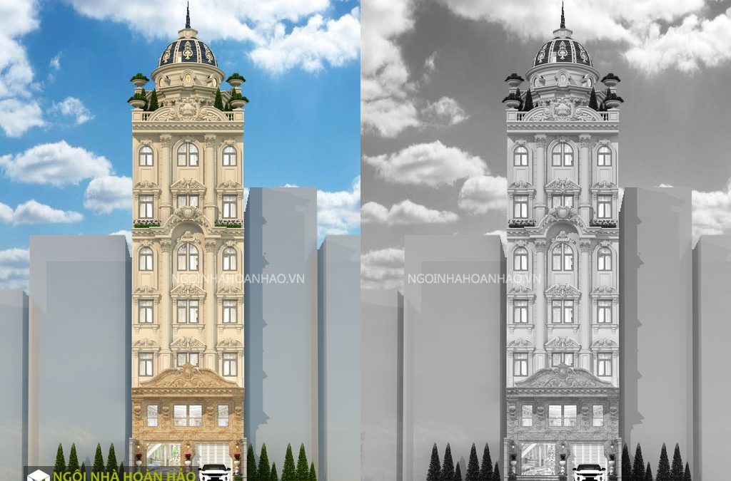 Khách sạn tân cổ điển cô Nga ở quận 9