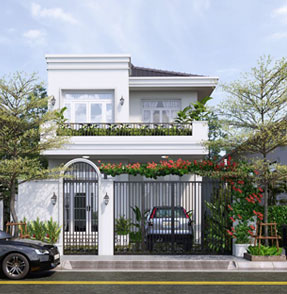 nhà 2 tầng đẹp trang chủ ngôi nhà hoàn hảo