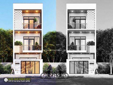 Nhà phố 3 tầng hiện đại bác Hoàng quận 2