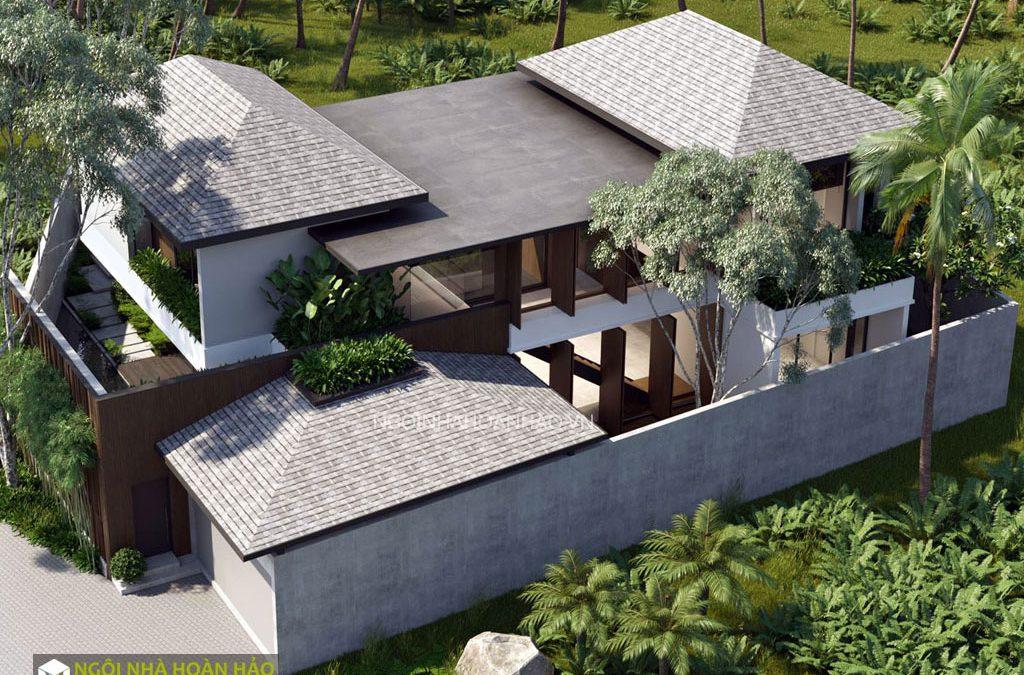 Thiết kế biệt thự 2 tầng hiện đại đồng nai 2