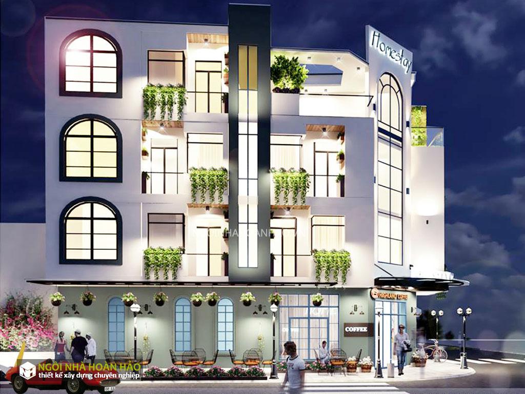 Thiết kế homestay anh Hà ở Daklak 2