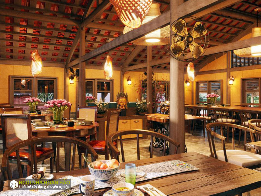 Thiết kế nhà hàng ẩm thực: Phối cảnh 6