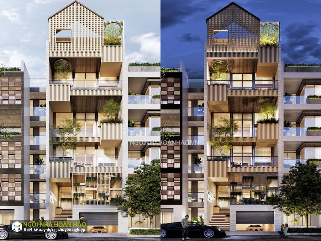 Thiết kế nhà phố hiện đại anh tiến quận 9 1