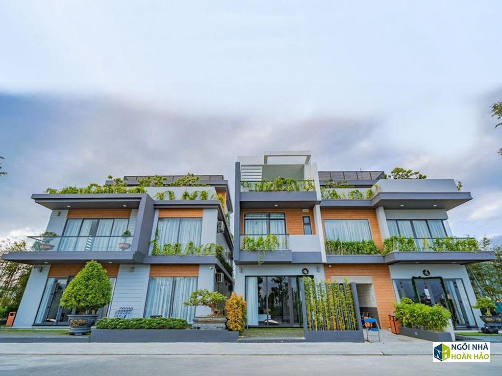 Hình thực tế nhà phố hiện đại cực đẹp: mặt tiền 2