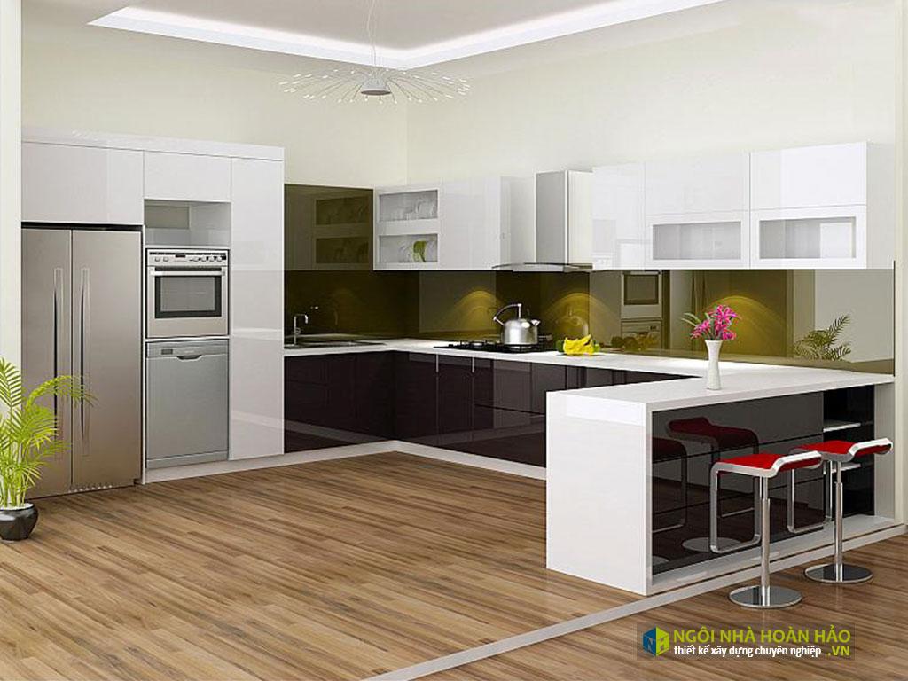 Mẫu bếp đẹp hiện đại 6
