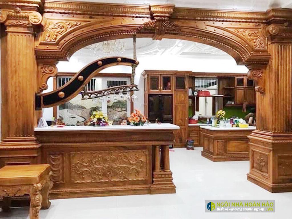 Đồ gỗ nội thất cao cấp phòng bếp