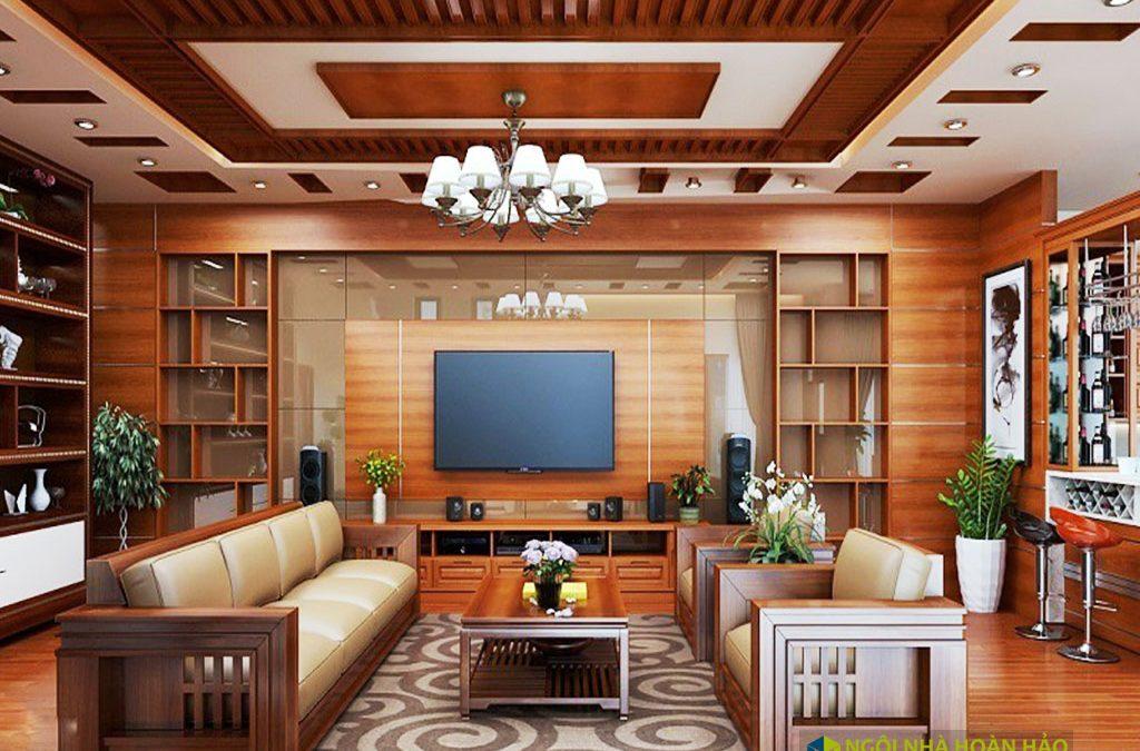 Đồ gỗ nội thất cao cấp phòng khách