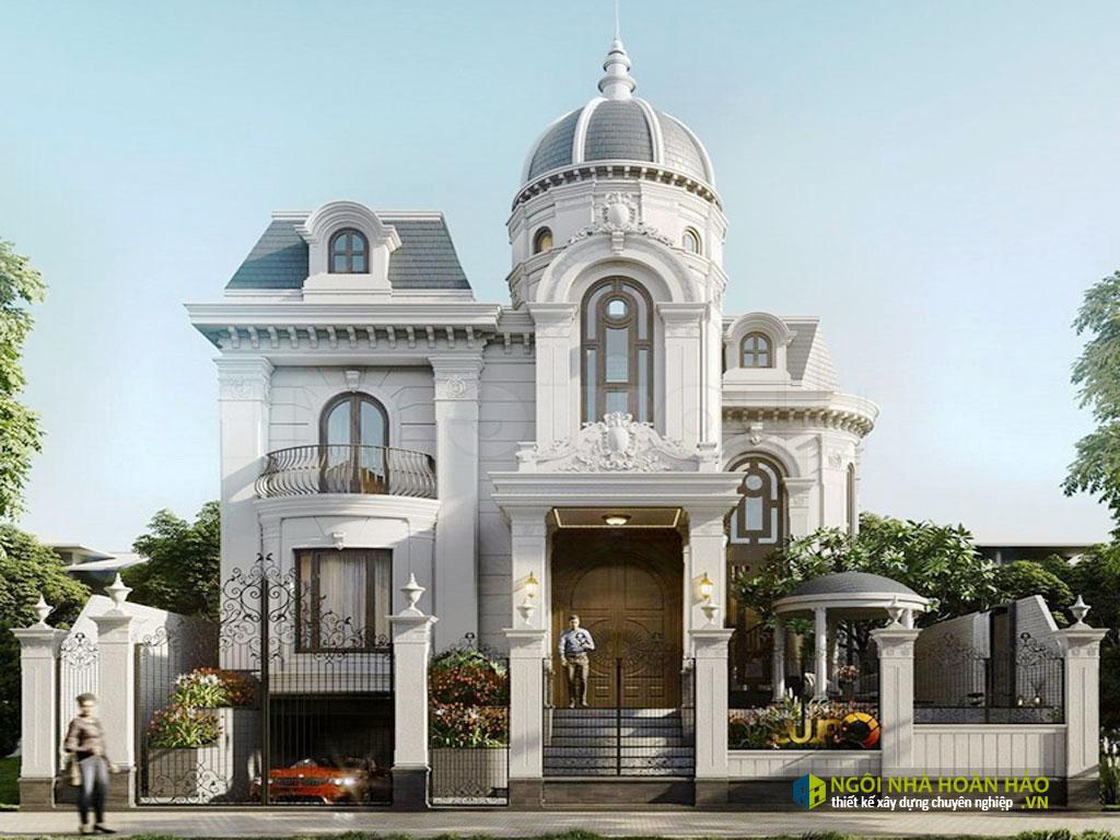 Mẫu nhà đẹp biệt thự tân cổ điển mới