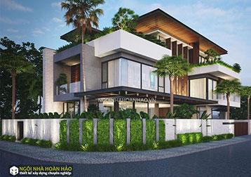 Thiết kế biệt thự Ngôi Nhà Hoàn Hảo