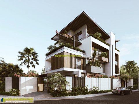 Thiết kế biệt thự hiện đại tại Bình Phước