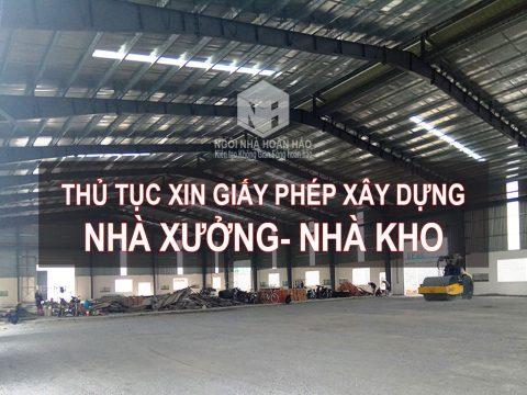 Thủ tục xin giấy phép xây dựng nhà xưởng