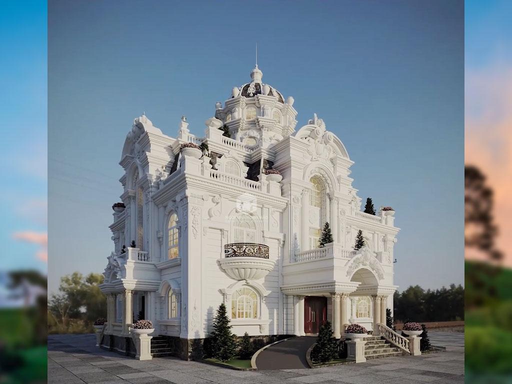 Lâu đài đẹp Bình Phước