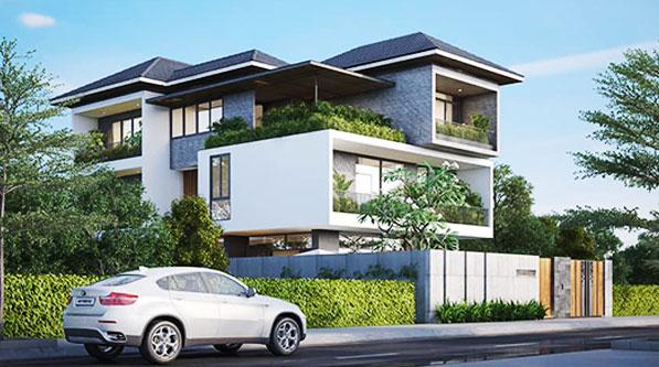 Mẫu nhà đẹp biệt thự hiện đại ngôi nhà hoàn hảo