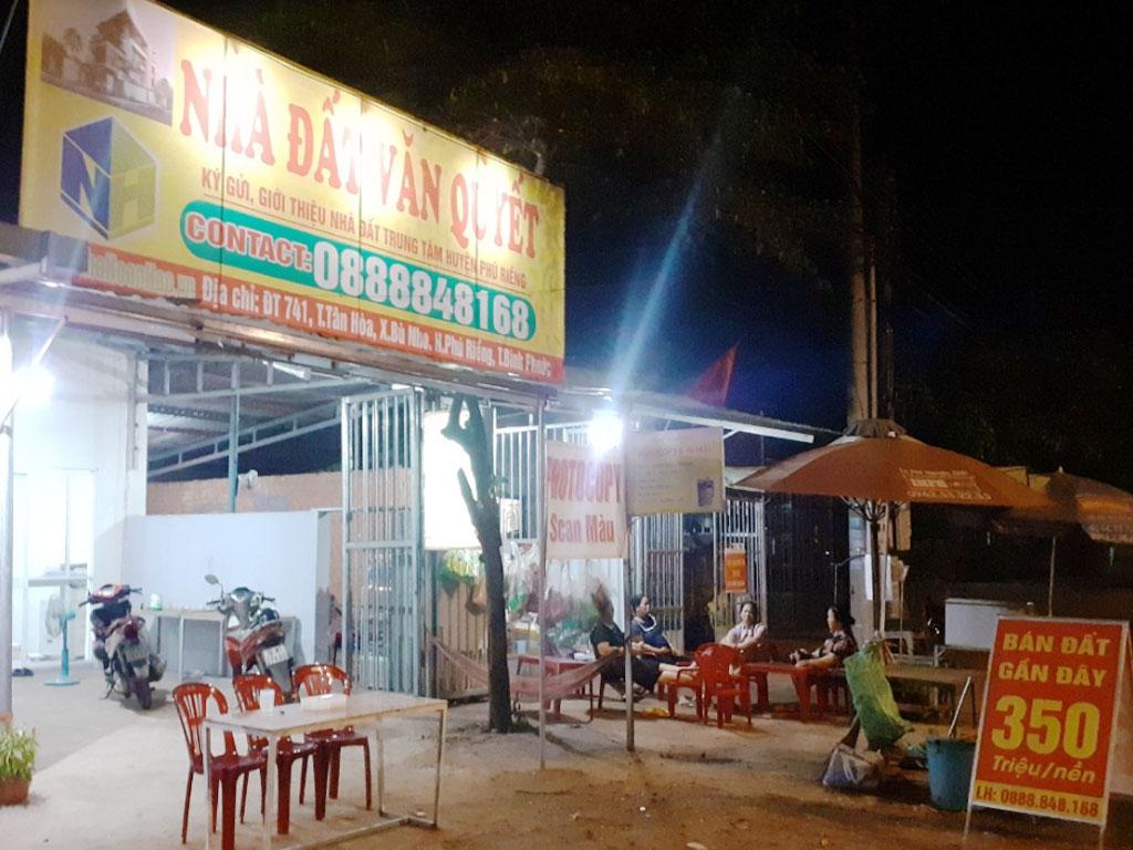 Nhà đất Văn Quyết mua bán đất nền Bình Phước Phú Riềng