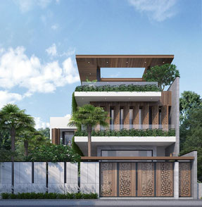 Mẫu nhà đẹp biệt thự 2022 trang chủ